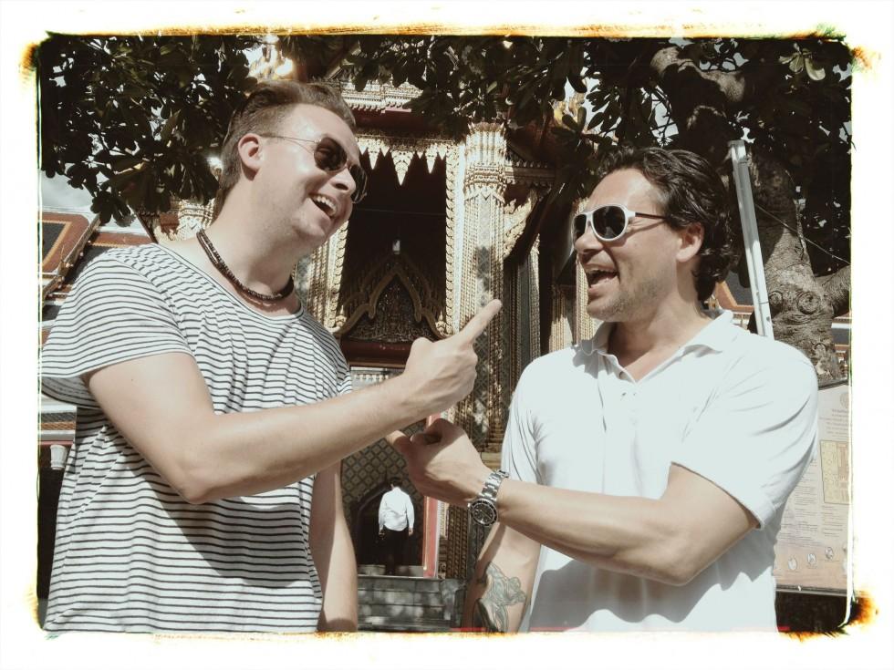 Deni og mig - real life buddies!