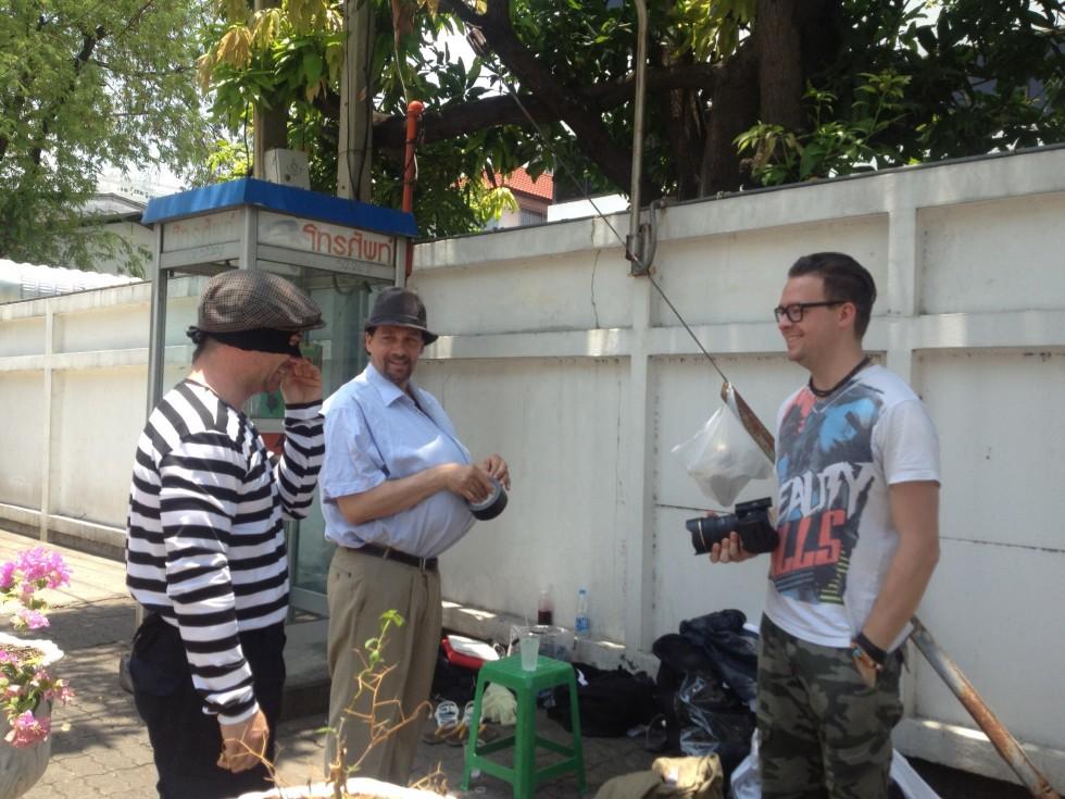 Optagelser i Thailand