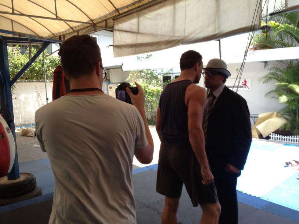 Optagelser med Ron Smoorenburg i Thailand