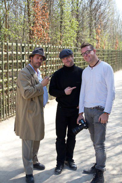 Deni, David og jeg i Paris.