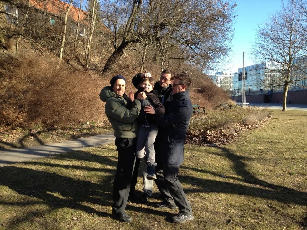 Optagelser i København