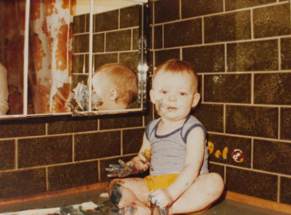 Kreativiteten startede i en tidlig alder.