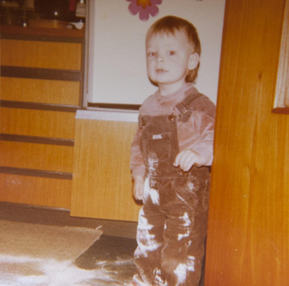 Madlavning mestrede jeg også tidligt i livet.