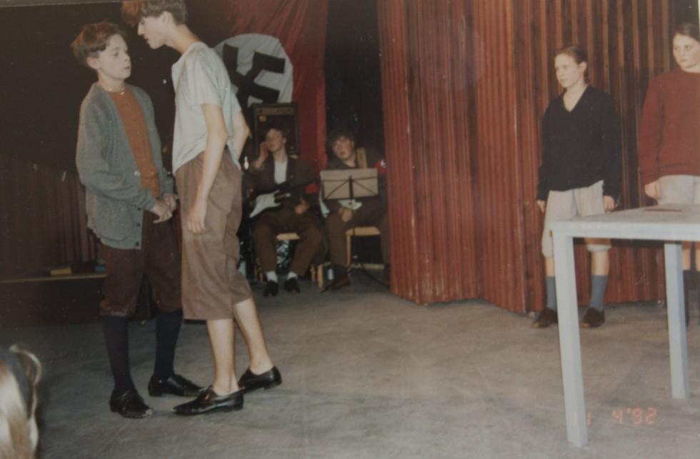 Første teateroptræden med min bedste ven igennem 22 år, Sune Lind Jensen. Fra teaterstykket Nattens Fyrste af Rene Benjamin Hansen og Trine Lindhardt.