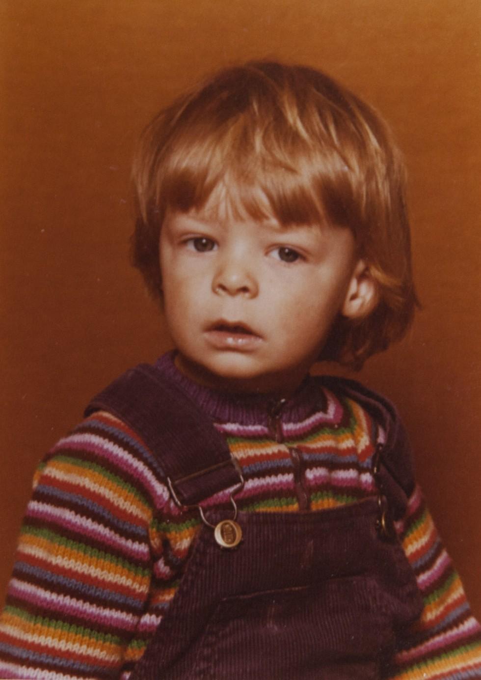 Første portrætbillede, ca. 1981.