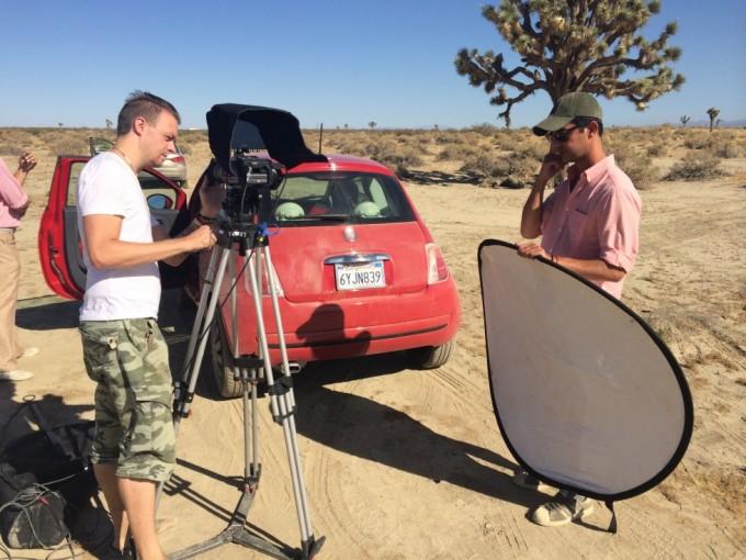 Kortfilmen skød vi på FS700 + Odyssey 7Q i ukomprimeret 2K.