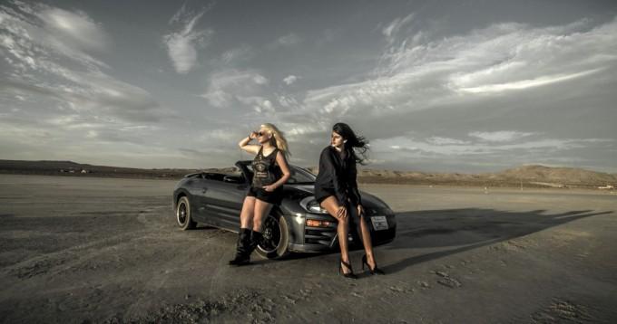 Testshoot i ørkenen