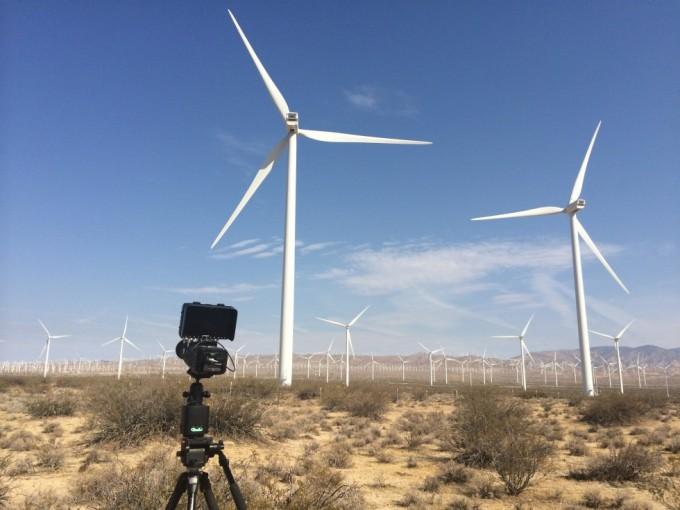 FS700 + Odyssey 7Q i ørkenen