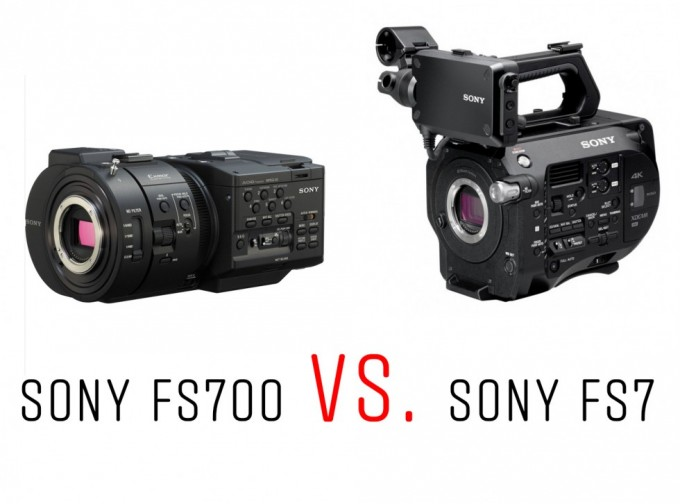 Sony FS700 vs FS7
