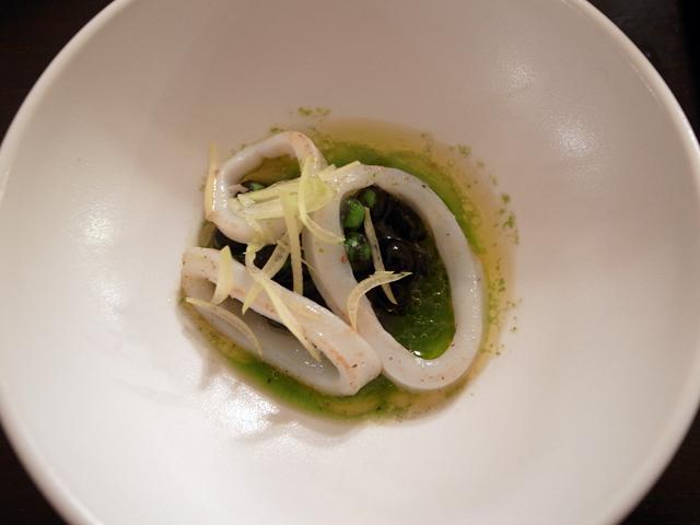 blæk, blæksprutte og grønt