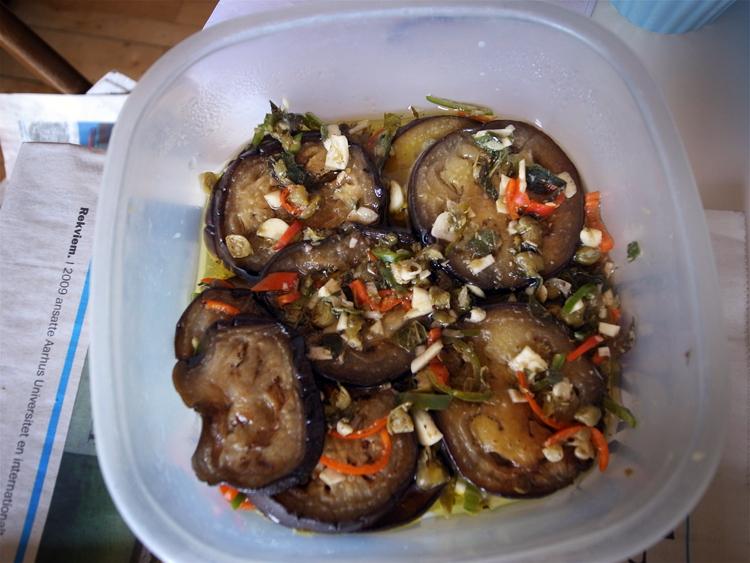 færdig auberginesalat