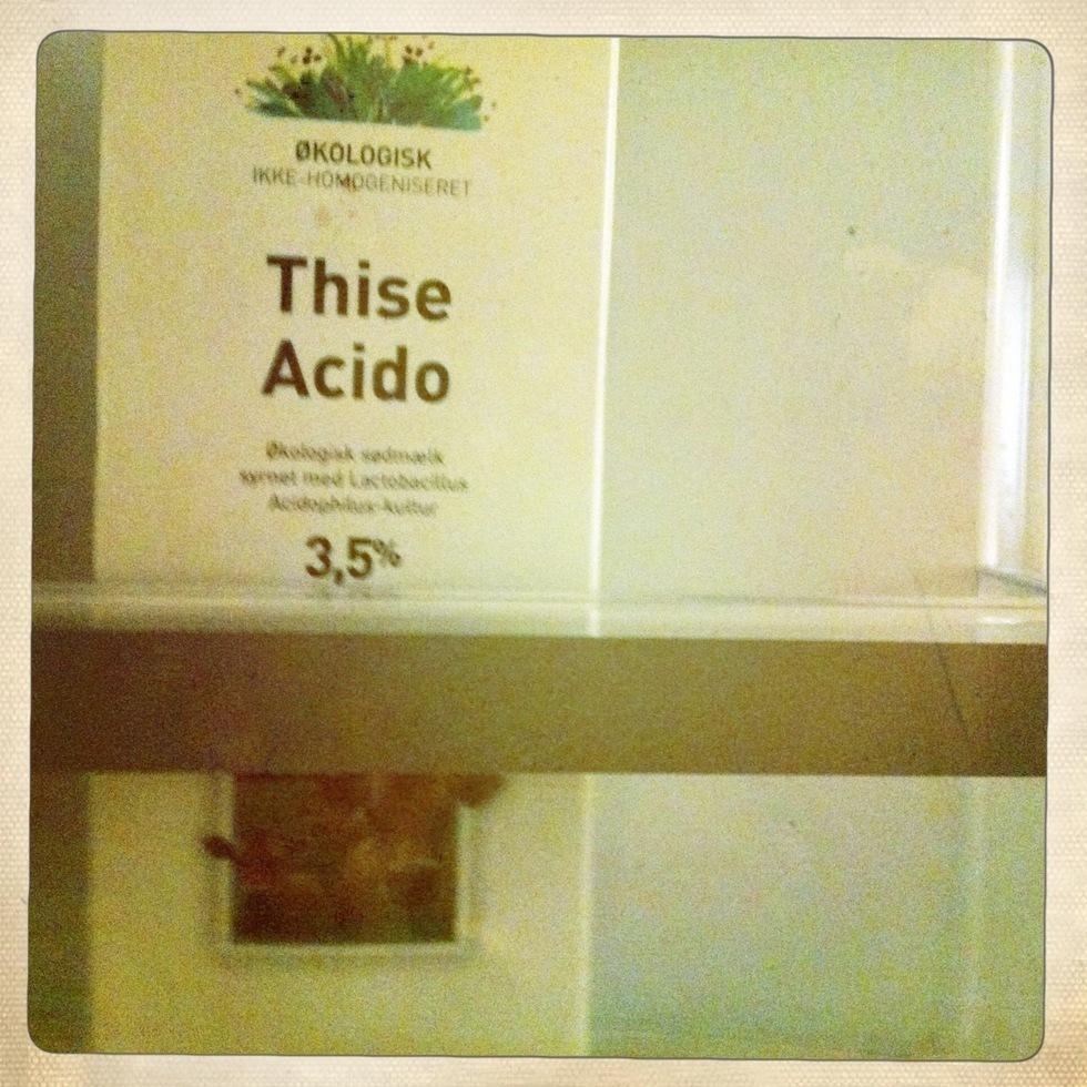 acido i køleren