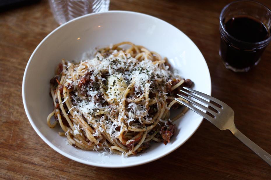 pasta kødsauce bolognese