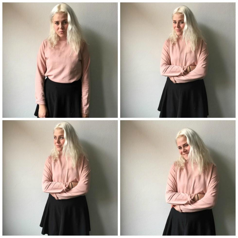 pink bluse