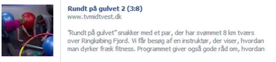 TV Midt-Vest den 15. januar 2014 - Rundt på Gulvet - FrækFitness