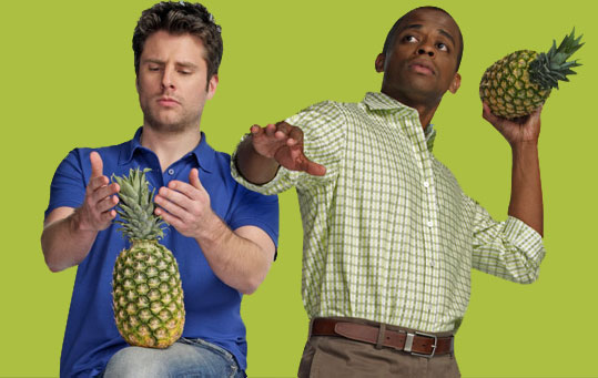 Psych pineapple tv show