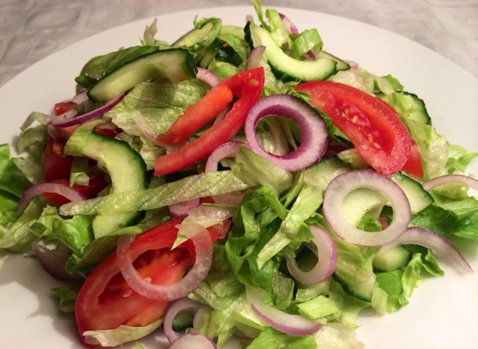 salat til peperoni