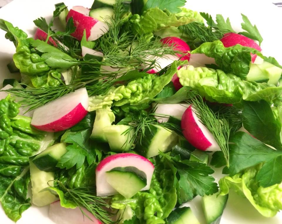 Salat til sild