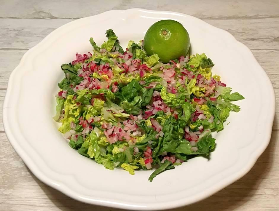 sprød salat rere