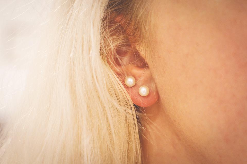 pearl earrings ebay