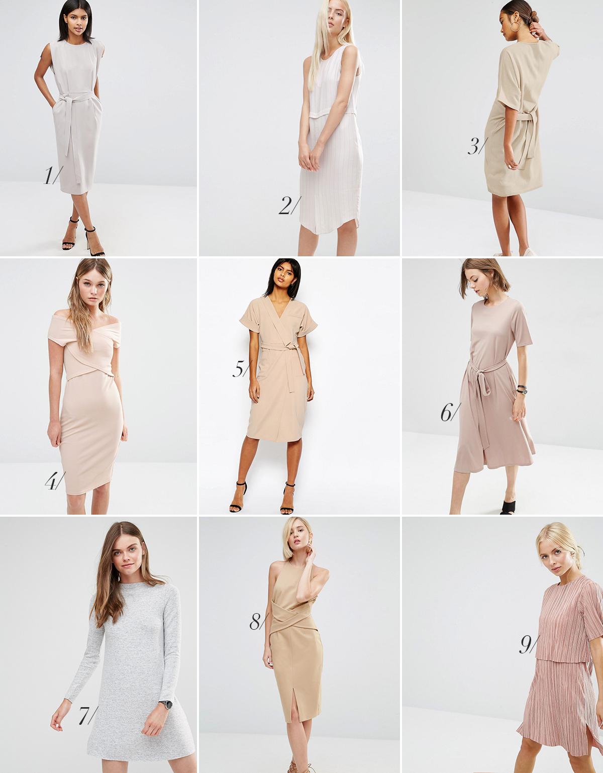 lyse kjoler