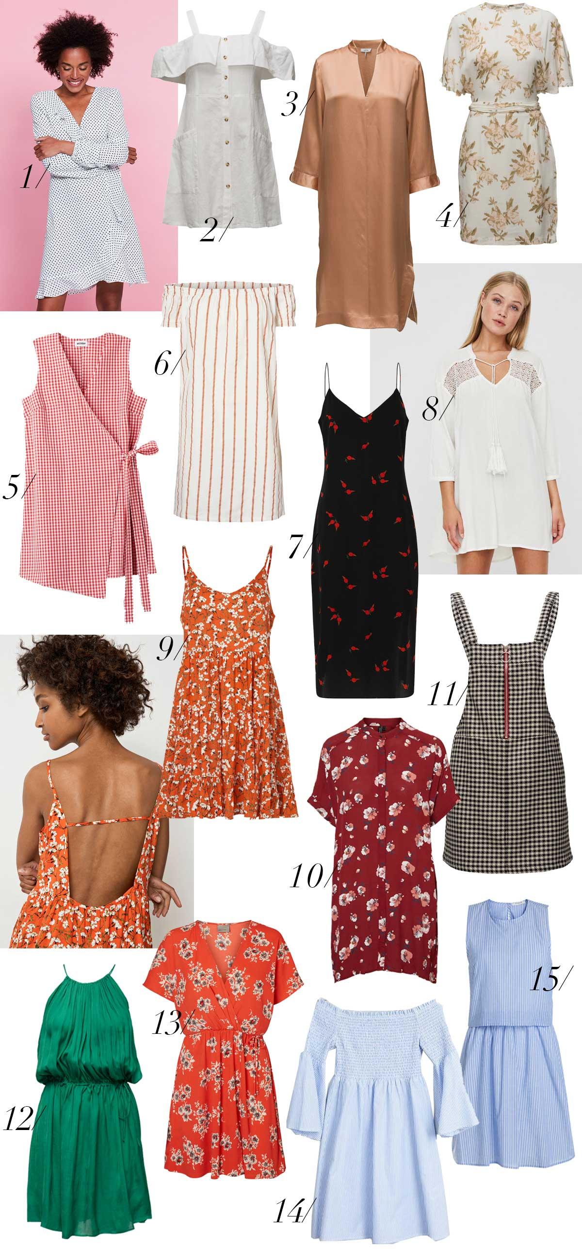 sommer-kjoler