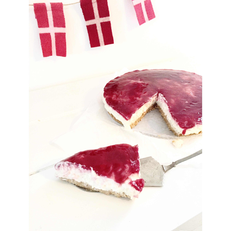 Ris a la mande cheesecake