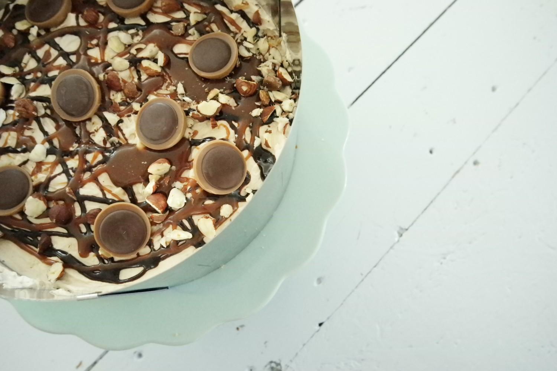 Toffifee cheesecake opskrift