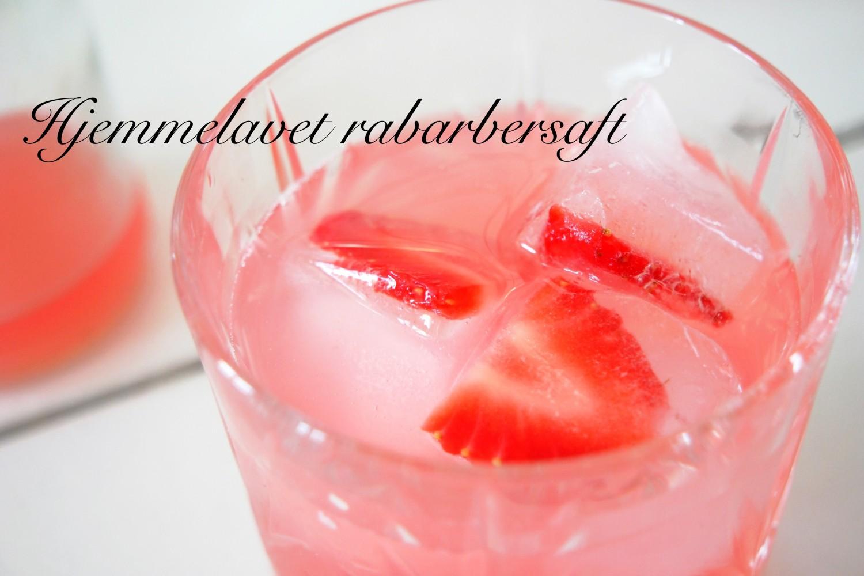 Rabarbersaft