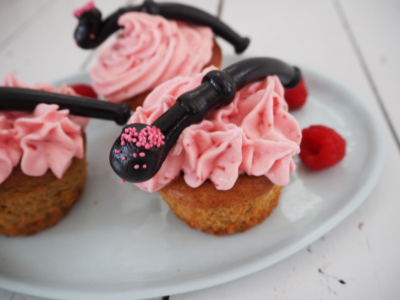 Citronmuffins-hindbær-frosting-lakridspibe