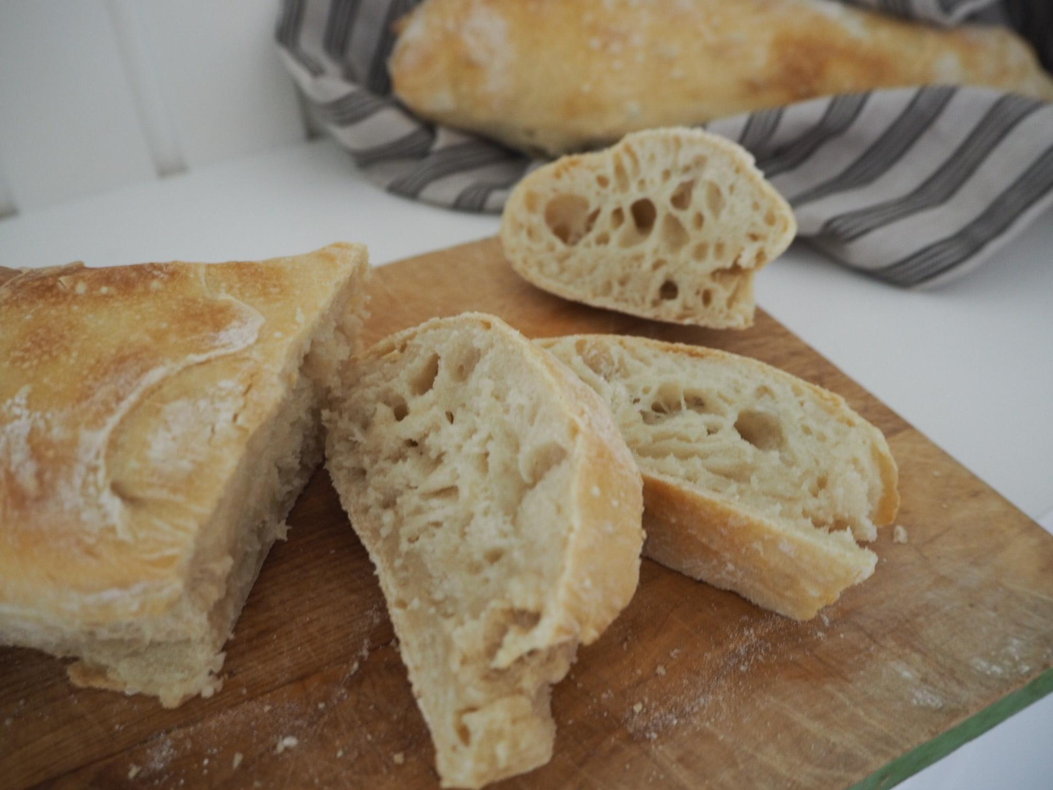 Ciabatta-brød