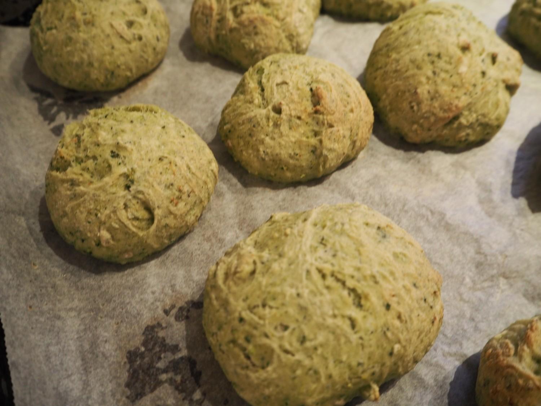 Broccoli boller med spinat