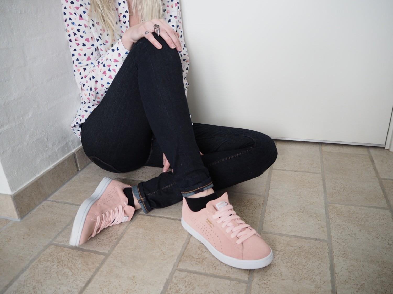 Puma-court-Star-lyserøde-sneaks