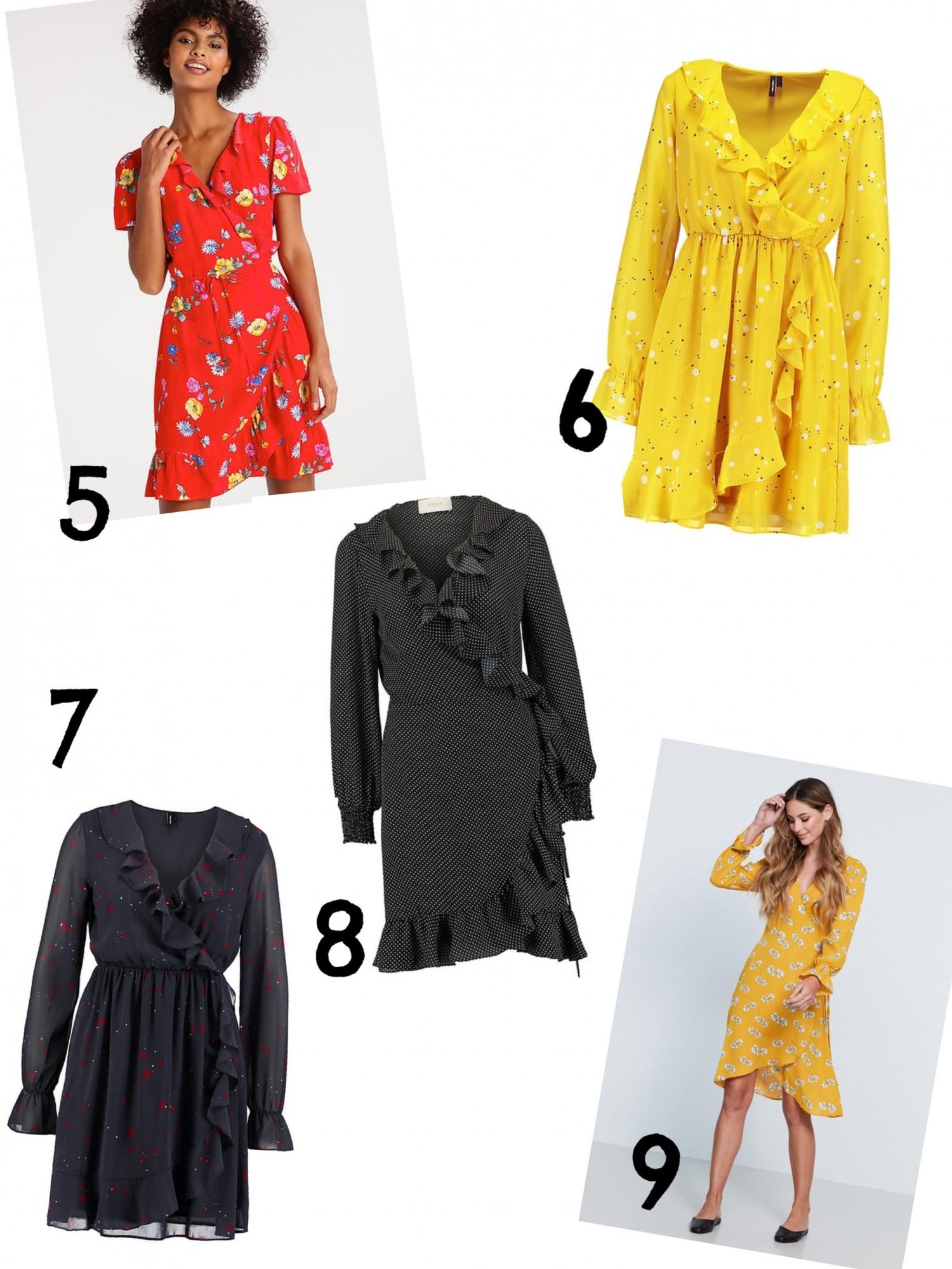 Vero moda slå-om kjole