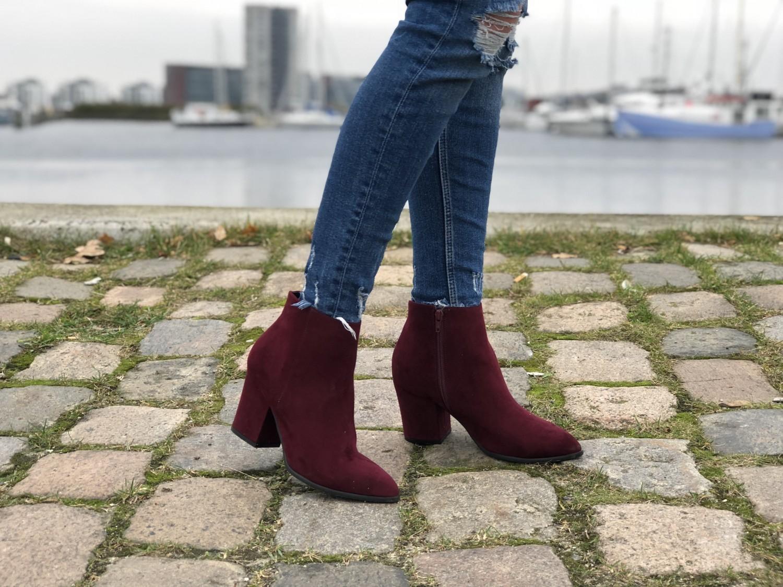 Røde støvler bianco