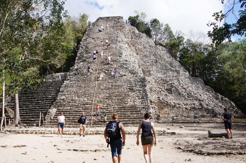 Coba pyramiden