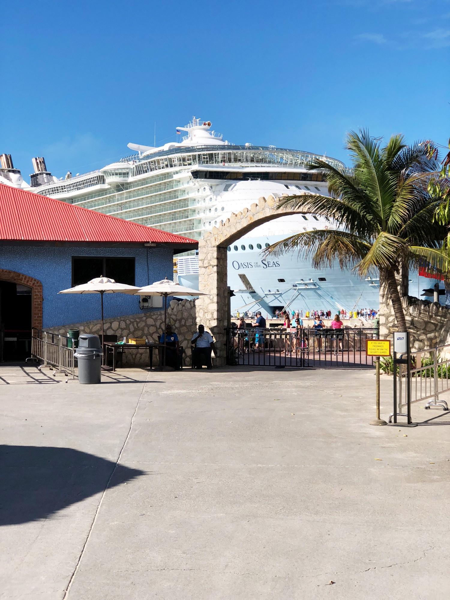 Cruising med Royal Caribbean Haiti