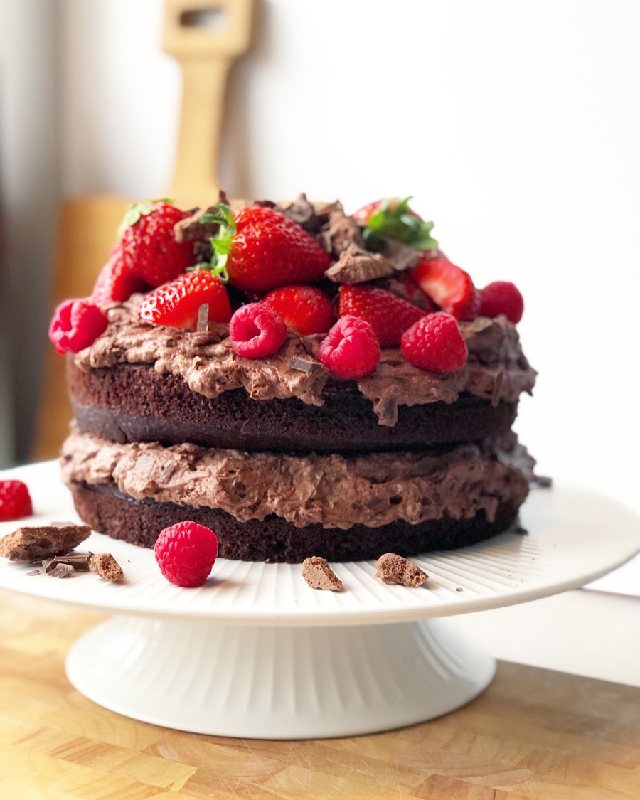 Black magic cake opskrift