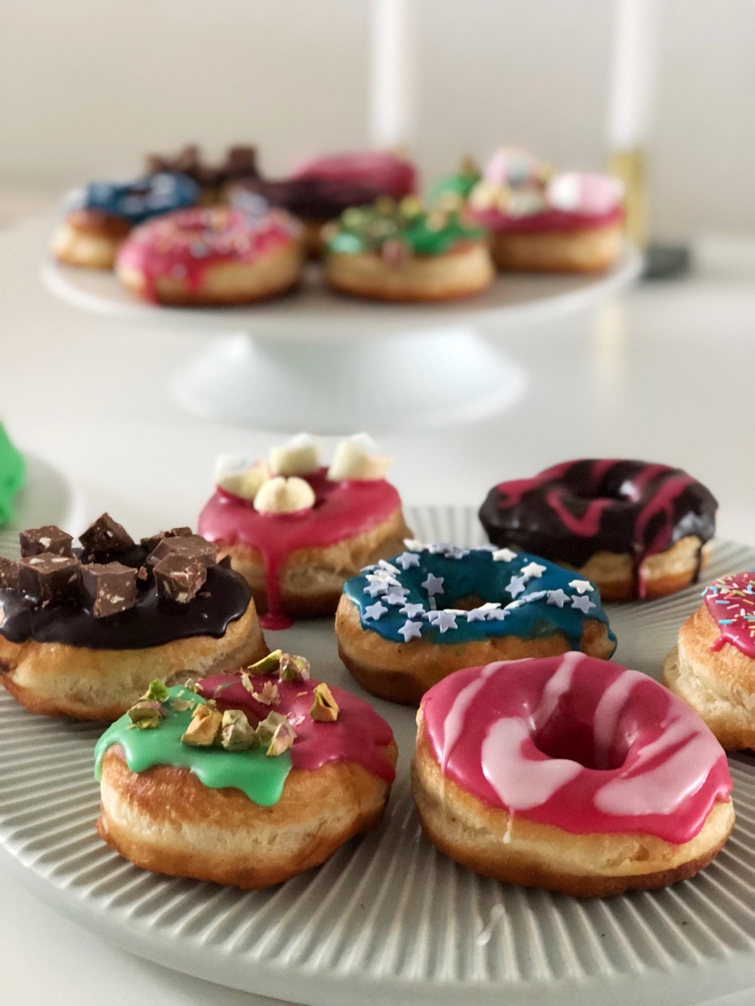 Opskrift på donuts