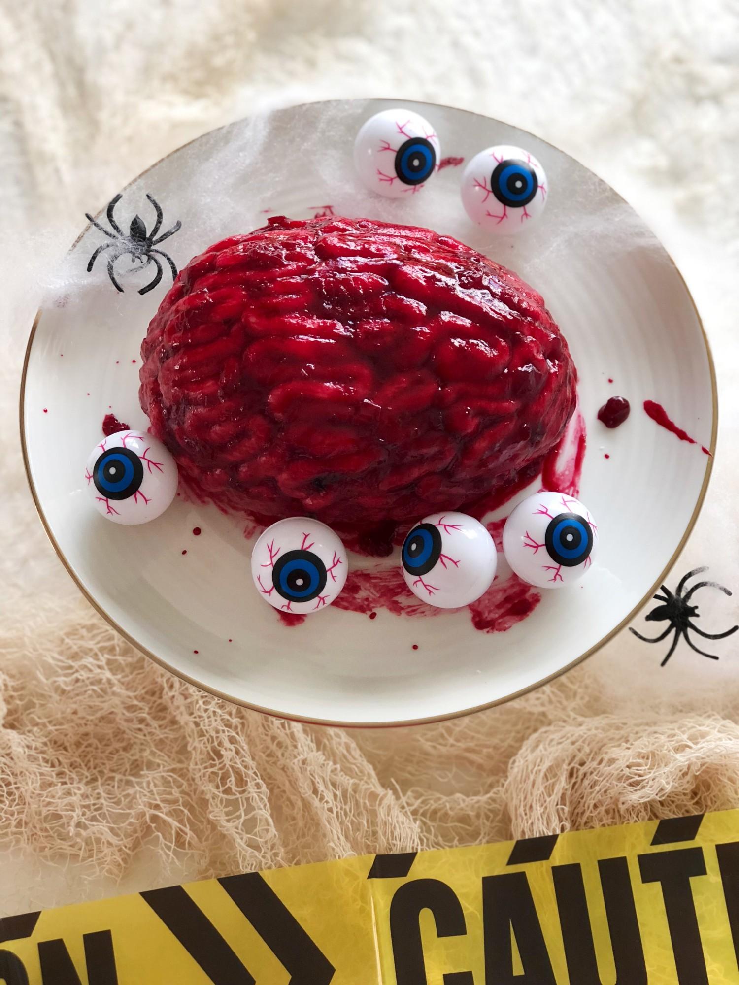 Halloween hjernekage