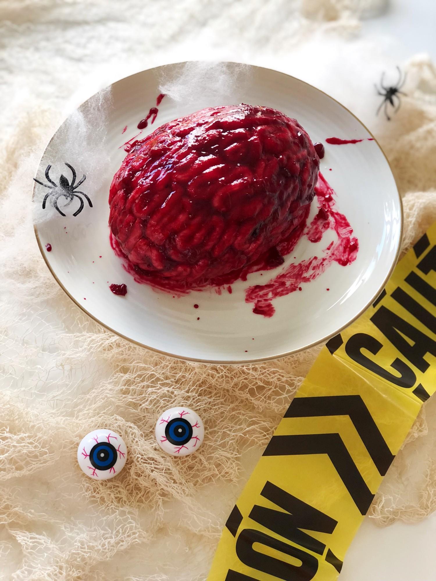 Hjernekage opskrift Halloween