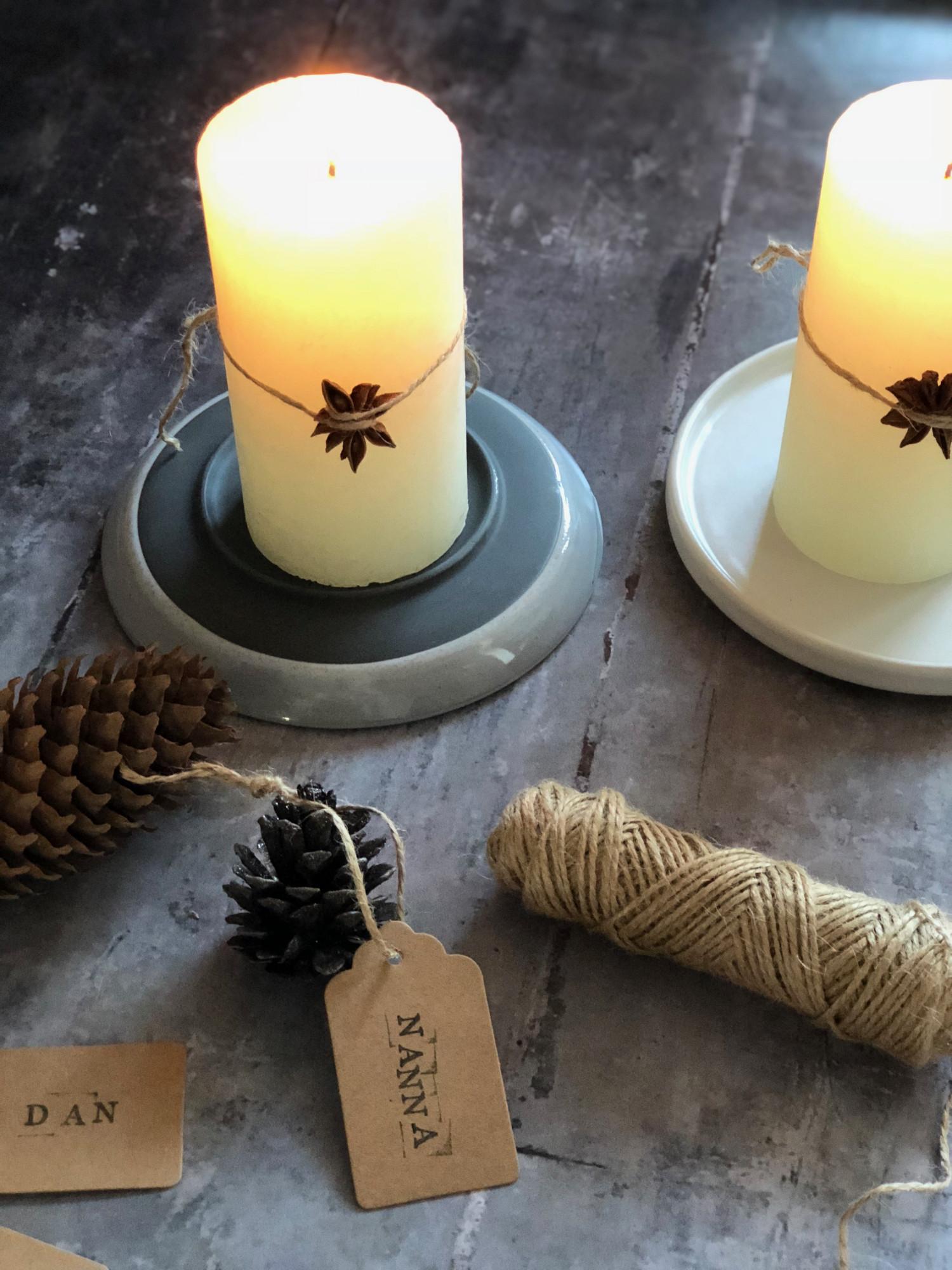 julebordet bordkort og bordpynt til jul