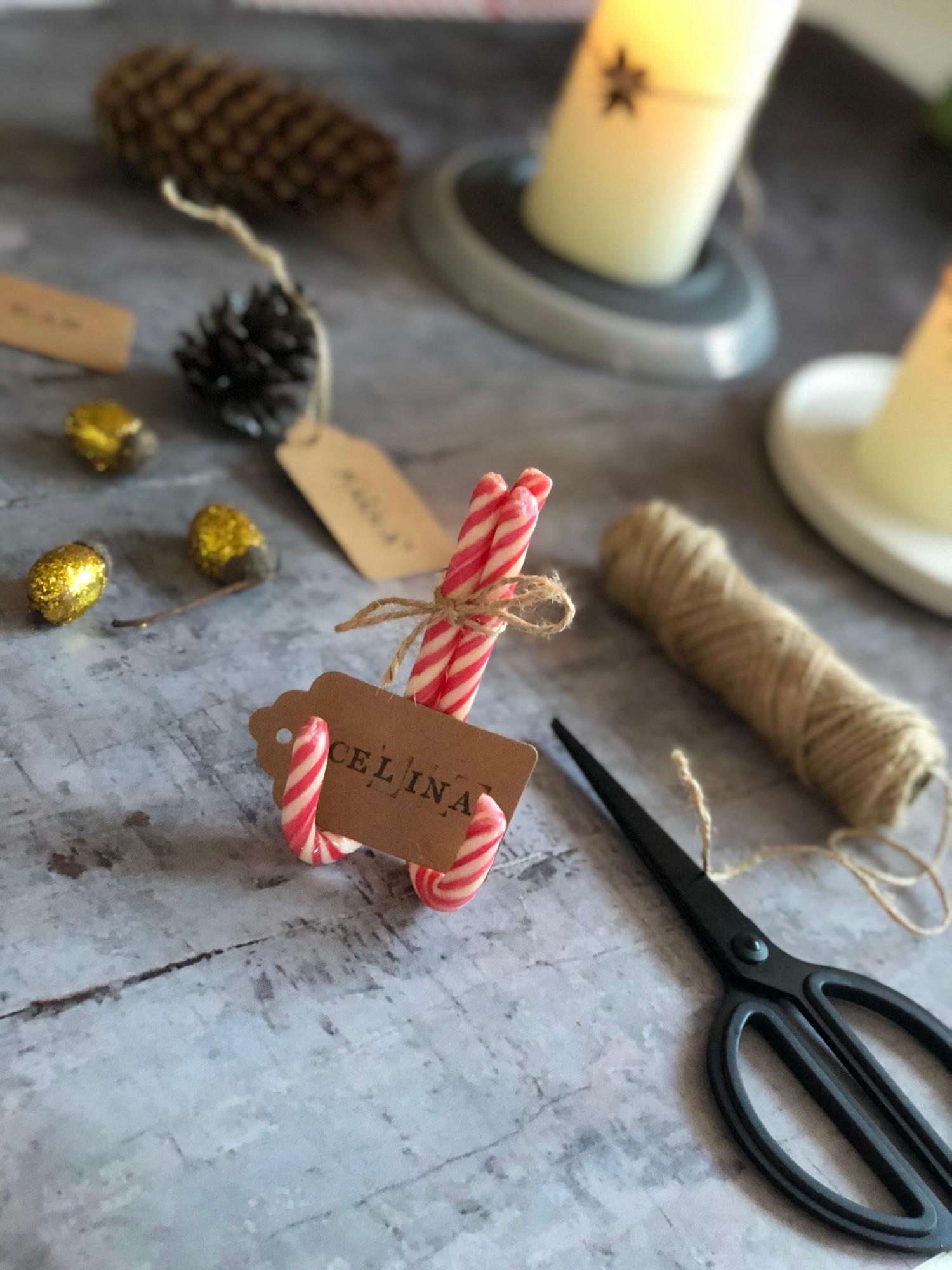 bordkort og borddekoration til jul