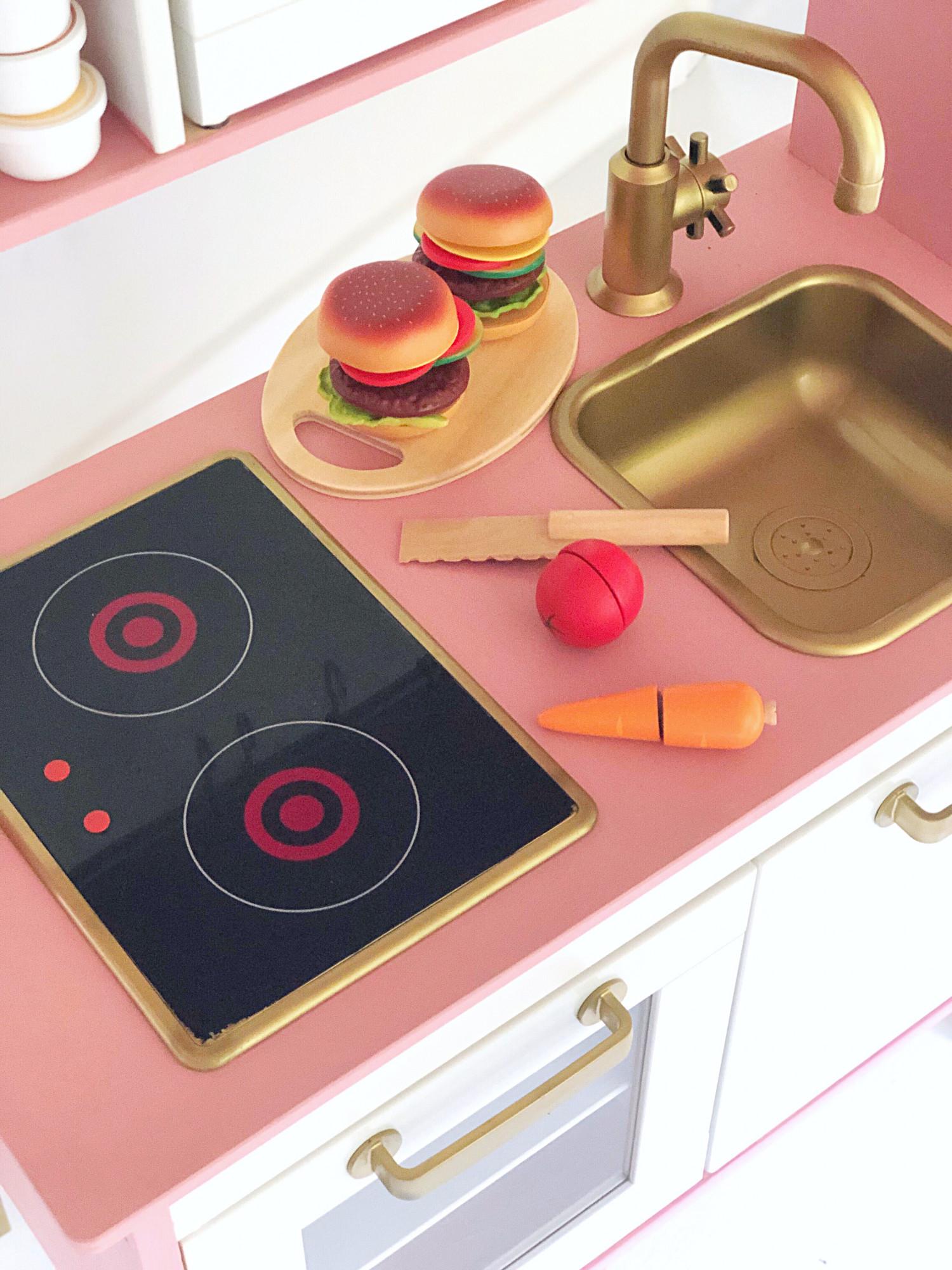 Ikea legekøkken hack - DIY inspiration til DUKTIG legekøkken