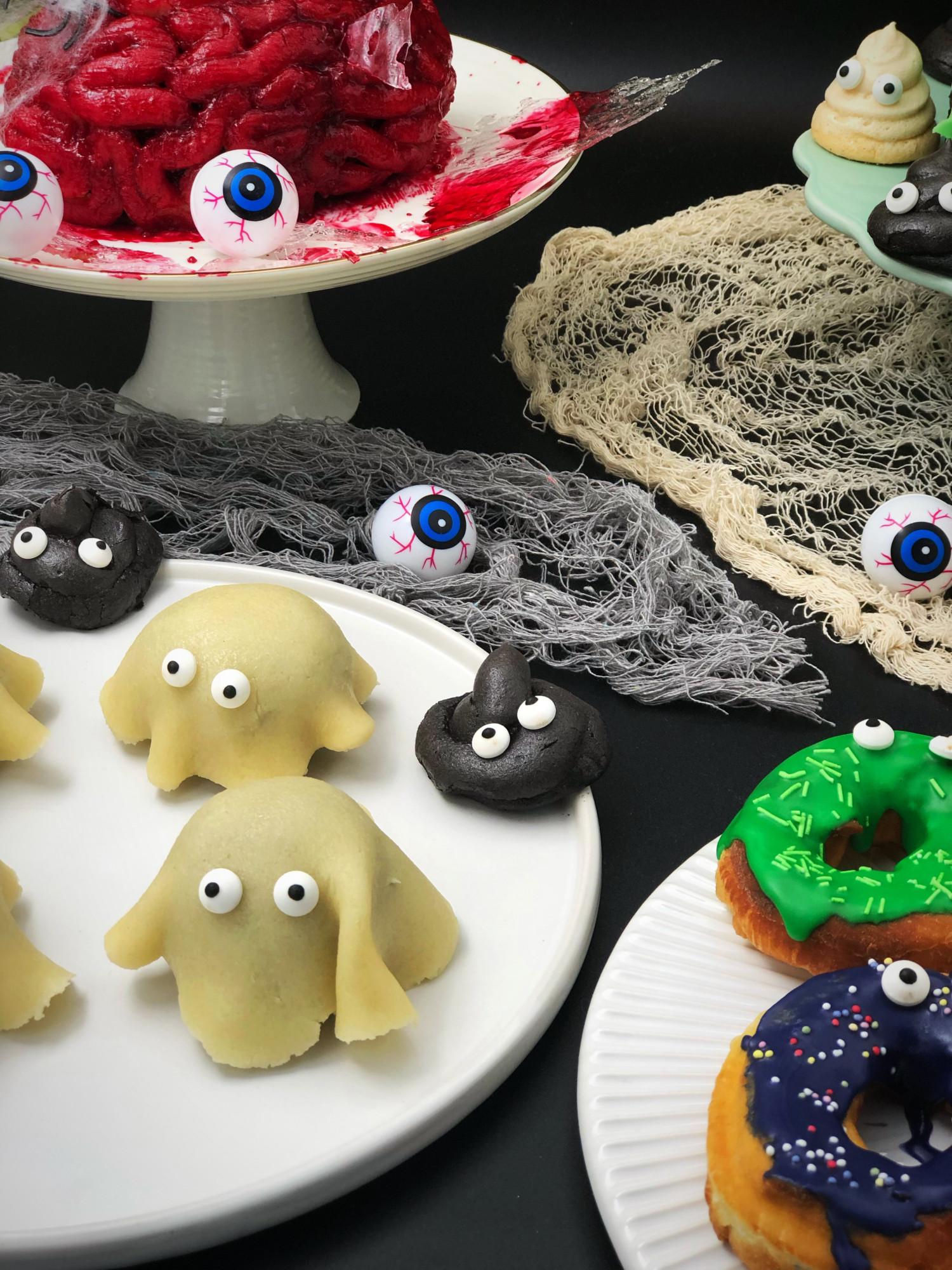 Halloween lorte kager