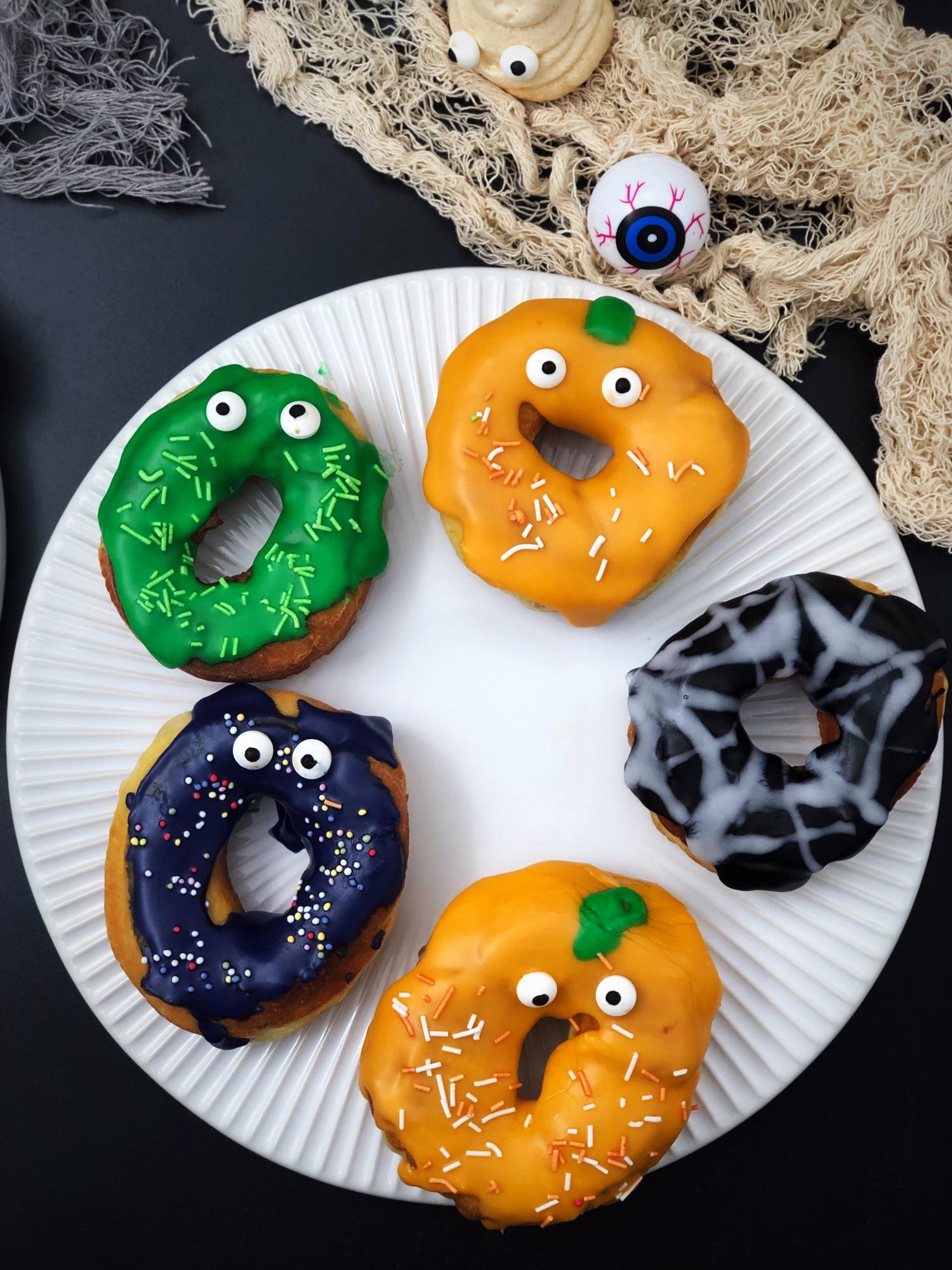 xHalloween donuts opskrift