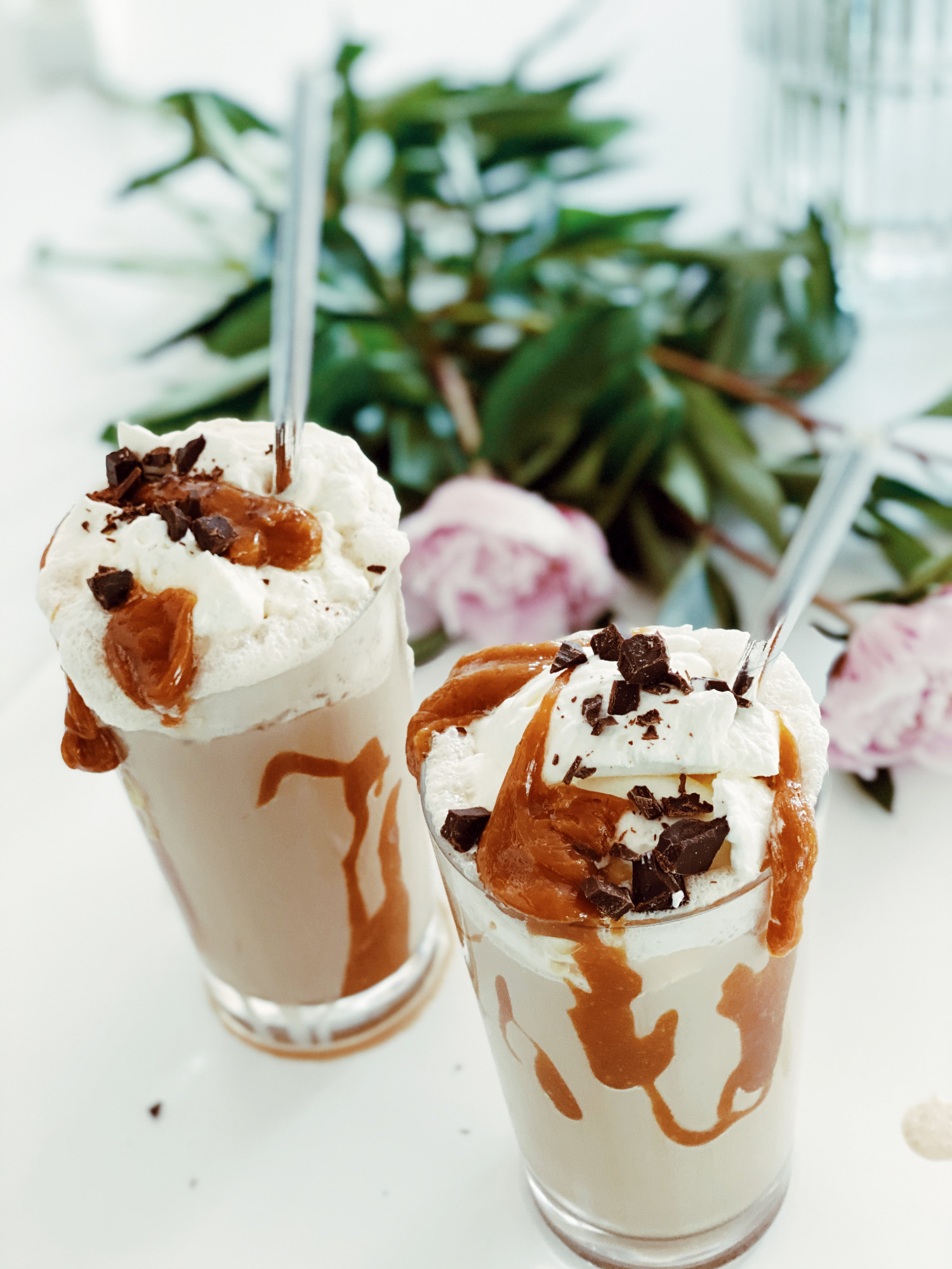 Frappe med vaniljeis