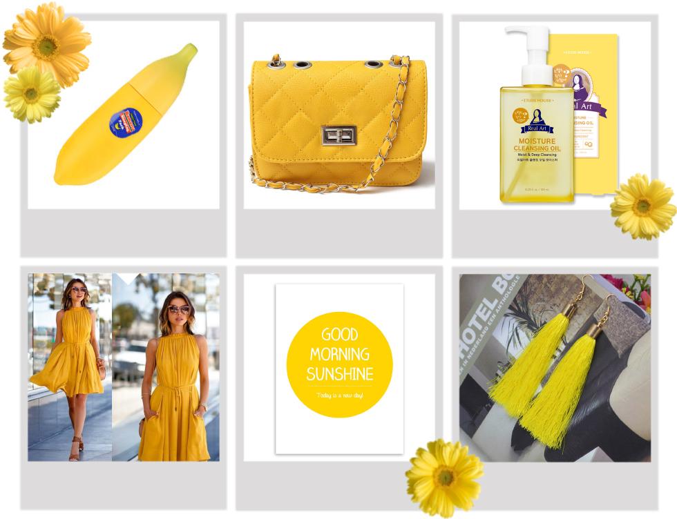 ebay 2016 sommer gul tøj koreansk hudpleje