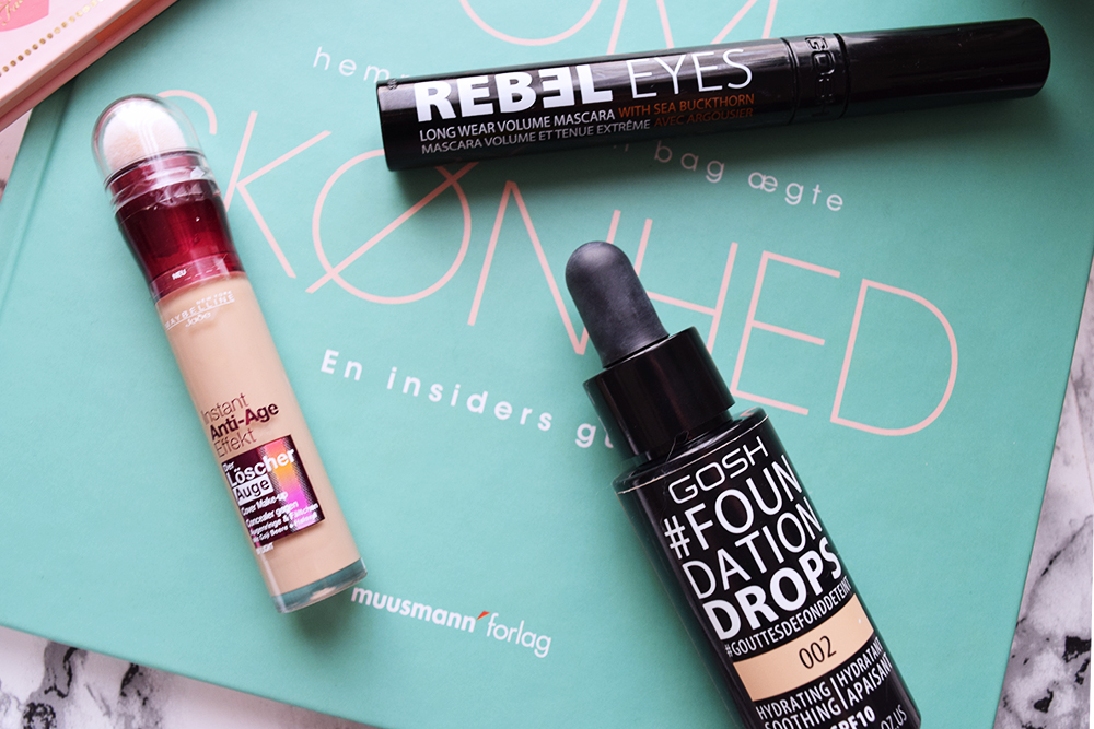Gosh foundation drops Rebel Eyes
