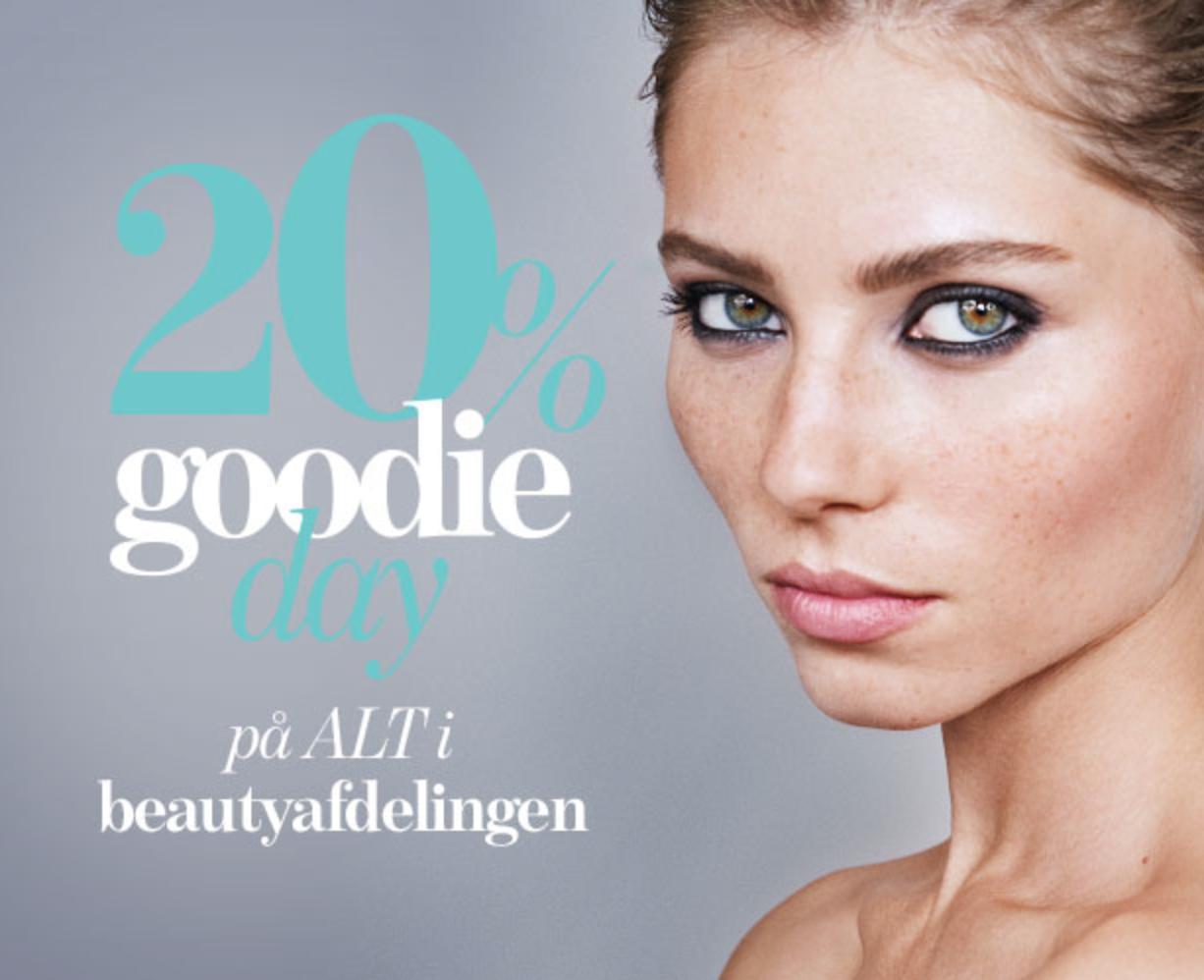 magasin, goodie card, goodie days, beauty, blog, blogger, tip, tirsdag, camilla nørgaard christensen, carola, bloggers delight, 20%, rabat